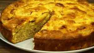 Яблочный пирог венский рецепт пошагово в духовке
