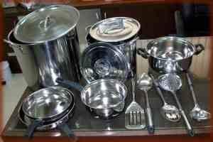 себе приобрести посуду из нержавеющей стали как в детском соду