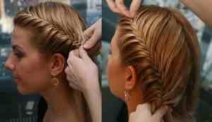 Прически из косичек на короткие волосы картинки
