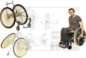 Как сделать инвалидную коляску для куклы